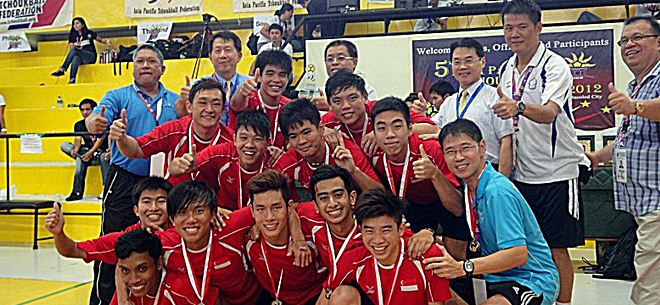 5th Asia Pacific Tchoukball Championships 2012 - Updated 9 August 2012